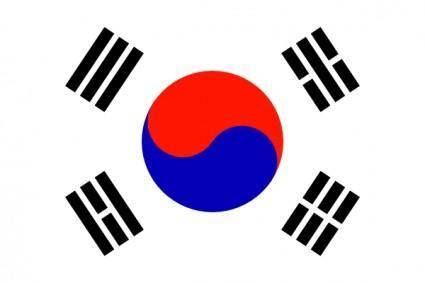 South KoreaTaegeukgi clip art