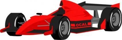 free vector Formula One Car clip art