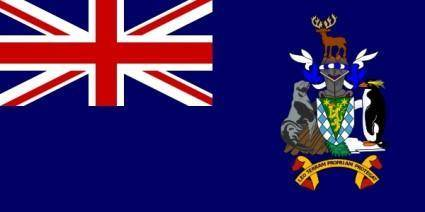 free vector South Georgia And South Sandwich Islands clip art
