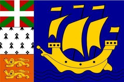 free vector FranceSt.pierre And Miquelon clip art