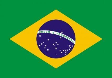 free vector Flag Of Brazil clip art