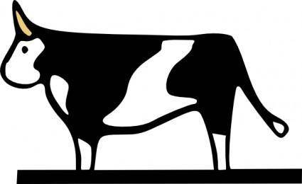 Farming Cow clip art