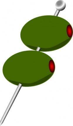 Cocktail Olives clip art