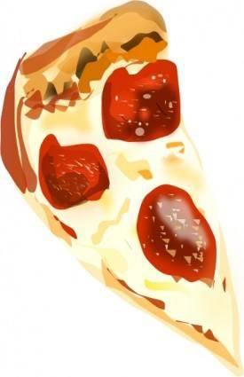 free vector Degri Pizza Slice clip art