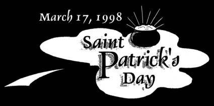 free vector Saint Patrick Mar clip art