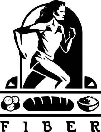 free vector Nutrition Fibers clip art