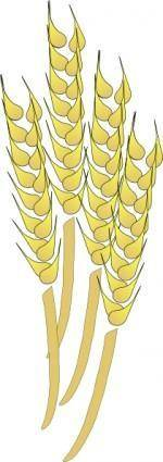 Davosmith Wheat clip art