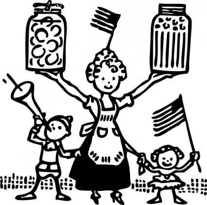 American Canning clip art