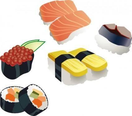 Sushi Set clip art