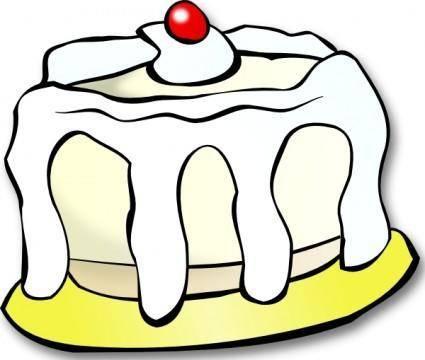 White Cake clip art