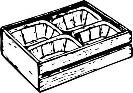 free vector California Crate clip art