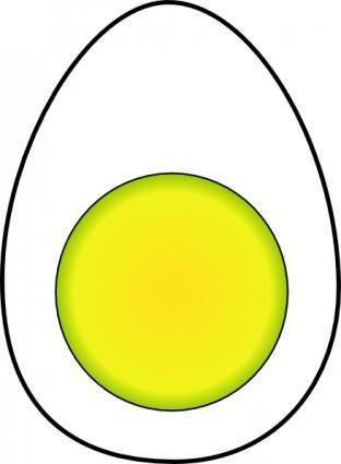 free vector Boiled Egg clip art