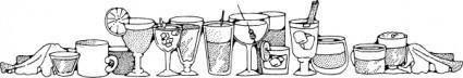 Drinks clip art