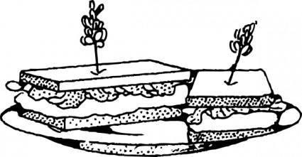 Sandwich clip art