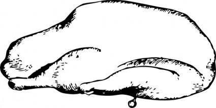 free vector Roast Goose clip art