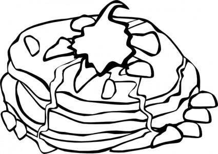 Fast Food Breakfast Ff Menu clip art