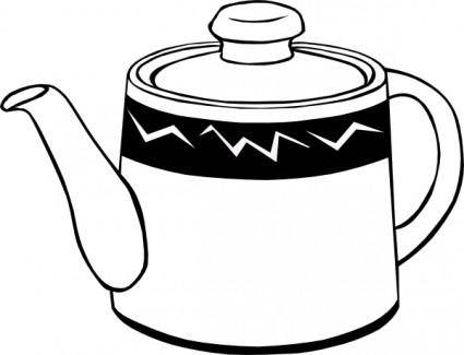 free vector Tea Pot clip art