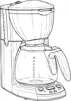 free vector Coffee Maker clip art