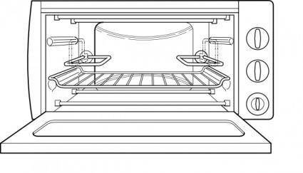 Oven clip art