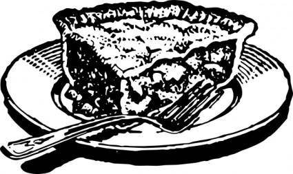 Slice Of Pie clip art