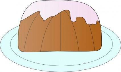 free vector Pound Cake clip art