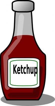 Ketchup Bottle clip art