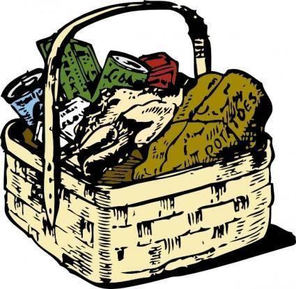 Food Basket clip art