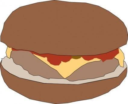 Hamburger clip art
