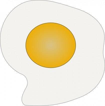 Sunny Side Up Eggs clip art