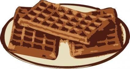 Waffles clip art