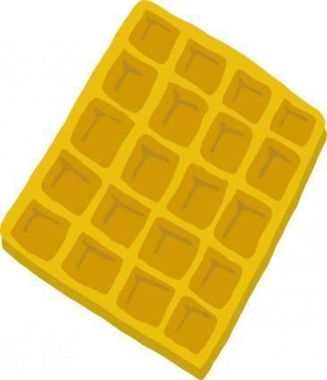 Waffle clip art