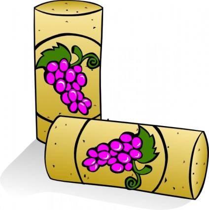 Wine Corks clip art