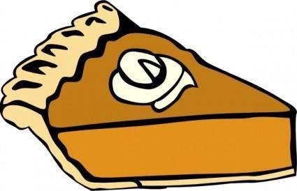 free vector Pumpkin Pie clip art