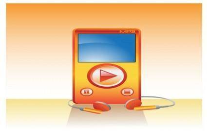 free vector Mp3 Player