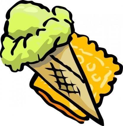 free vector Ice Cream Cone clip art