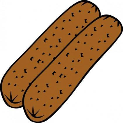 Breakfast Sausage clip art