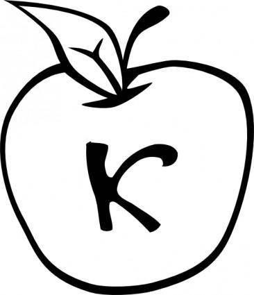 free vector Eris Apple clip art