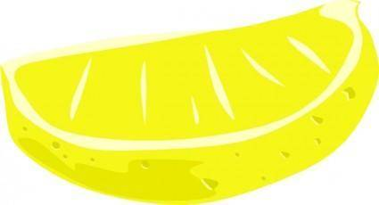 Lemon Wedge clip art