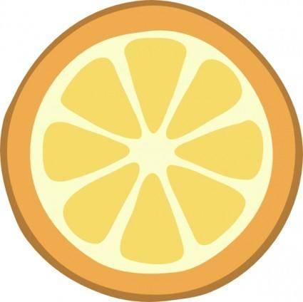free vector Rondelle Orange clip art