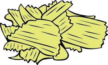 free vector Potato Chips clip art