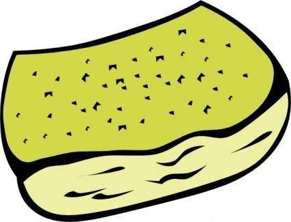 free vector Garlic Toast clip art