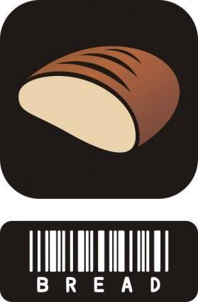 free vector Bread clip art