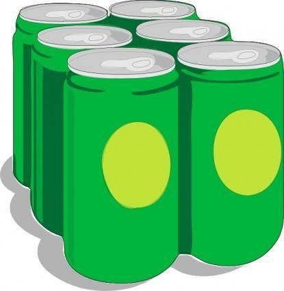 Beer Cans clip art