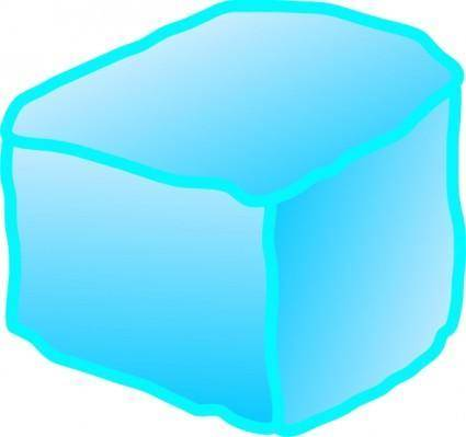 free vector Ice Cube clip art