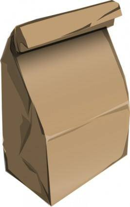 free vector Paperbag clip art
