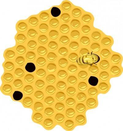 free vector Bee Hive clip art