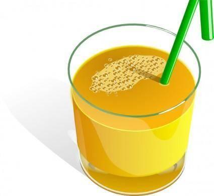 Juice Glass clip art