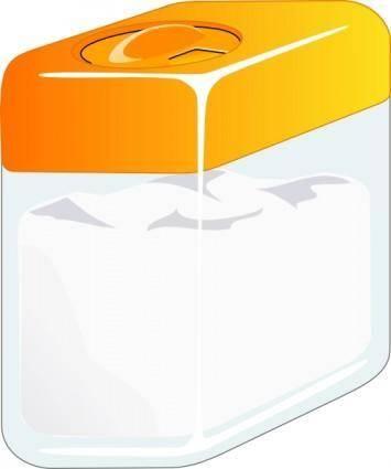 Sugarbox clip art