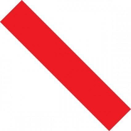 Sciezka Edukacyjna Czerwona clip art