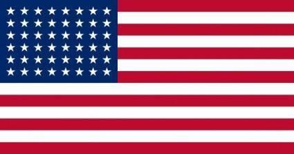 Us Flag Stars clip art